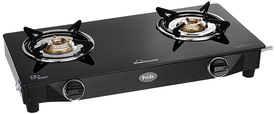 Best 2 burner gas stove in affordable price
